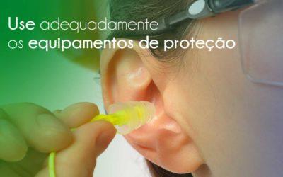 Use equipamentos de proteção individual quando exposto ao ruído