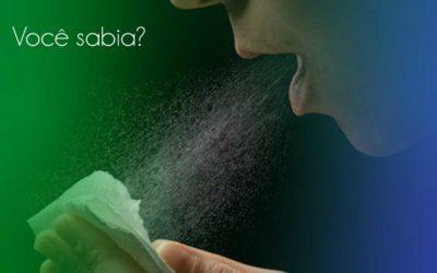 Em um espirro o ar pode atingir a velocidade de 160 km/ hora