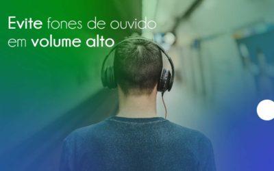 Evite usar fone de ouvido